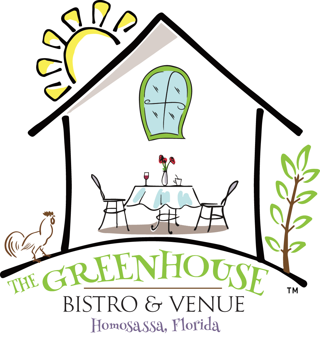 The Greenhouse Bistro & Venue logo